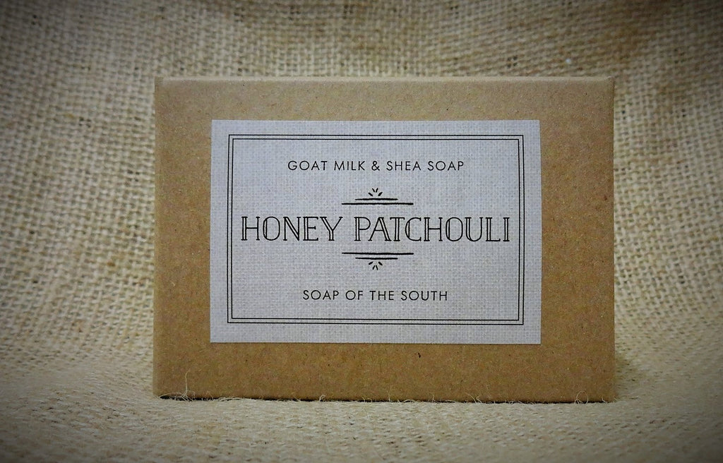 Honey Patchouli Goat's Milk Soap Bar