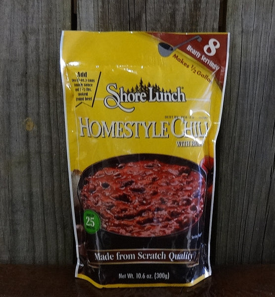 Shore Lunch Homestyle Chili Mix