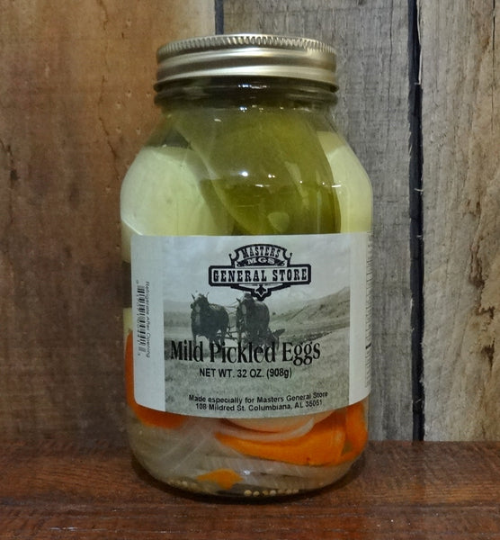 Masters General Store Mild Pickled Eggs 32 ounce
