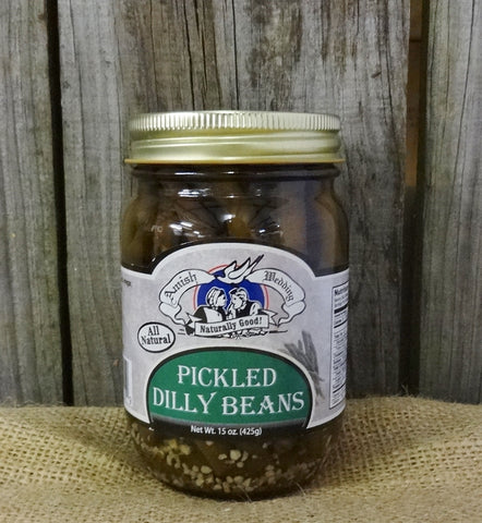 Amish Wedding Pickled Dilly Beans - 15oz