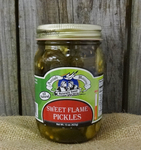 Amish Wedding Sweet Flame Pickles