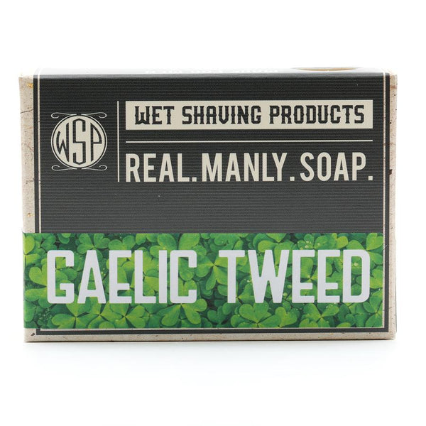 WSP Castile Hand & Body Soap - Gaelic Tweed - FREE SHIPPING