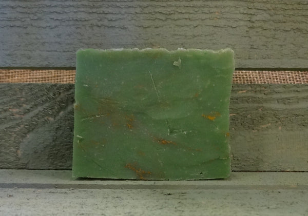 Primitive Green Clover Soap Bar - FREE SHIPPING