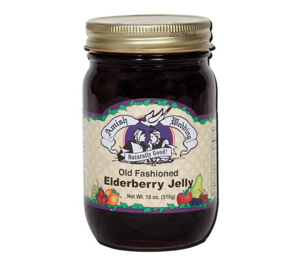 Amish Wedding Old Fashioned Elderberry Jelly