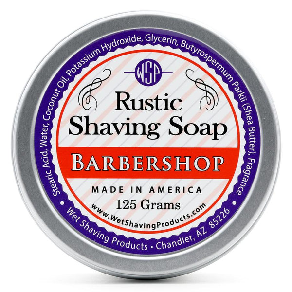 WSP - Rustic Shaving Soap - Barbershop - FREE SHIPPING
