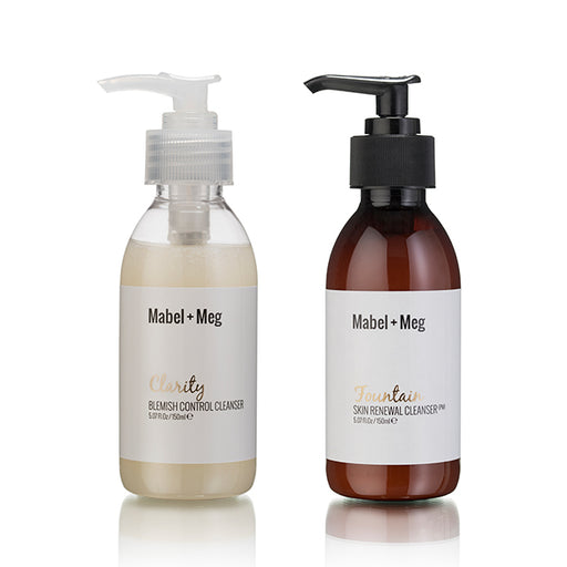 Clarity + Fountain Cleanser Bundle - Mabel and Meg