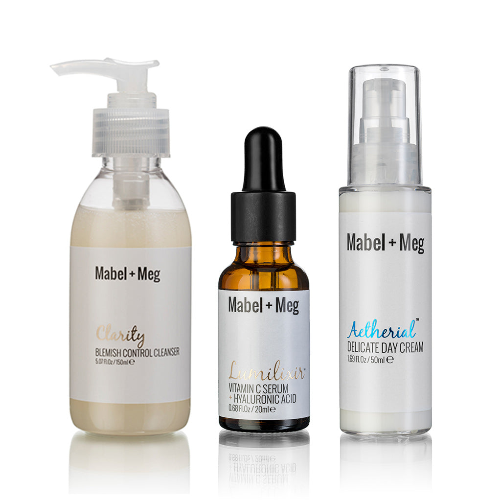 Blemish/Light Moisture Routine (Clarity + Lumilixir (20ml) + Aetherial)
