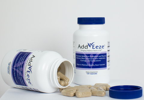 AddEeze 1 month supply (one 120 capsule bottle)