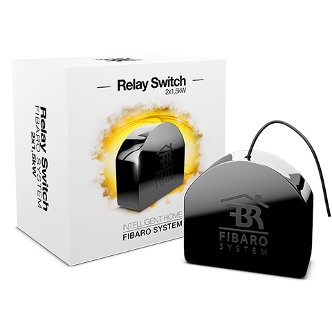 FIBARO Relay Switch 2x1,5kW (Releu On-Off Dublu)