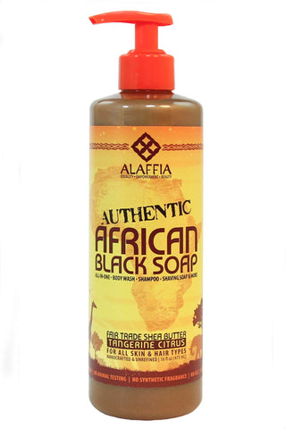 Authentic African Black Soap - Alaffia - Motherlands Finest - 5