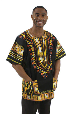 Dashiki Shirt Plus Size - Motherlands Finest - 1