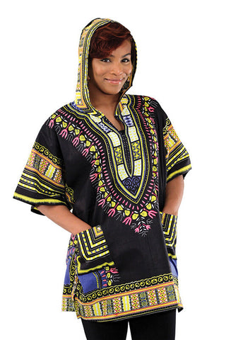 Unisex Dashiki Hoodie Shirt - Motherlands Finest - 1
