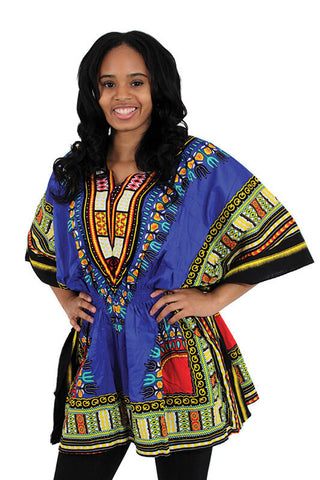 Traditional Elastic Dashiki - Motherlands Finest - 1