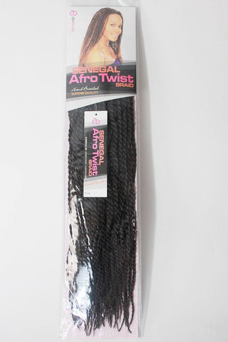 Afro Beauty Senegal Afro Twist Hand Braided Hair Extension - Motherlands Finest - 1
