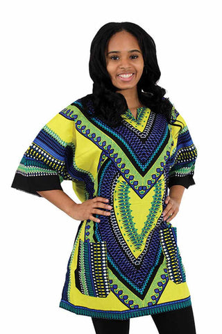 Dashiki shirt (Heart Of Africa) - Motherlands Finest - 1