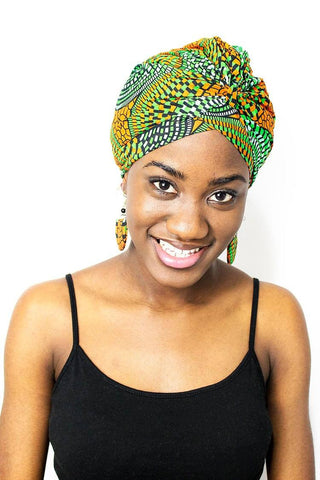 African Ankara Ready To Wear Head Wrap
