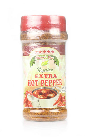 Nigerian Extra Hot Pepper 4 OZ - Natures Best - Motherlands Finest
