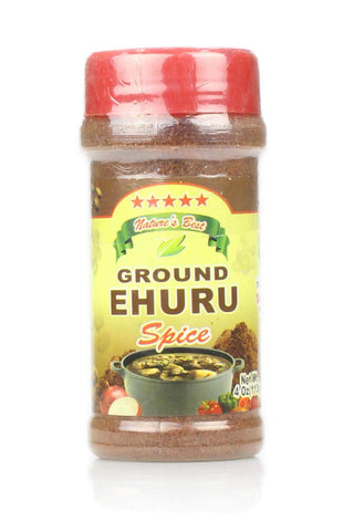 Ground Ehuru spice 4 OZ - Motherlands Finest