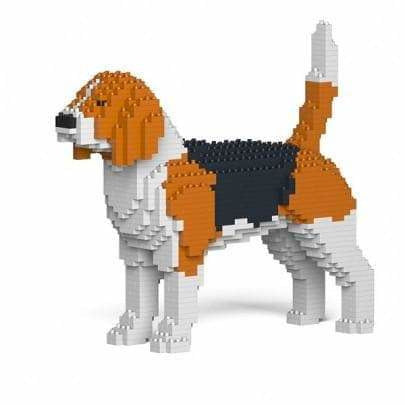 Beagle Ornament Gift Model by Jekca, Building block model lego style - The Pet Vault