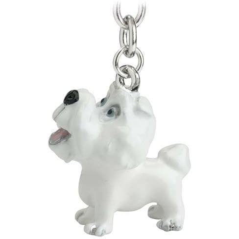 Bichon Frise Gift Figurine Keyring - The Pet Vault