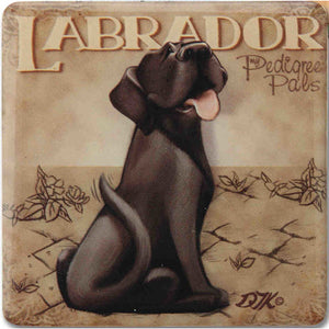 Black Labrador Gift Magnet with Stand - The Pet Vault