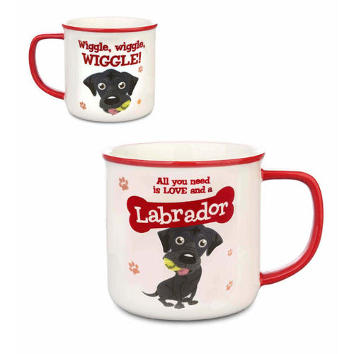 Black Labrador Gift Mug - The Pet Vault