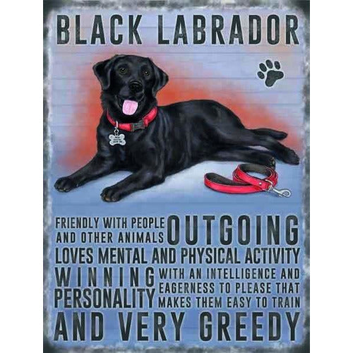 Black Labrador Magnet Gift - The Pet Vault