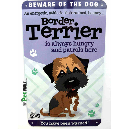 Border Terrier Gift Sign - The Pet Vault