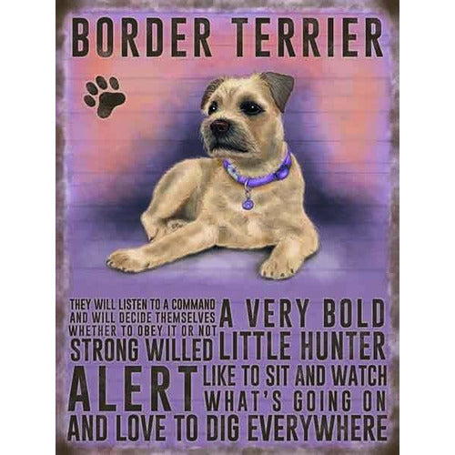Border Terrier Magnet Gift - The Pet Vault