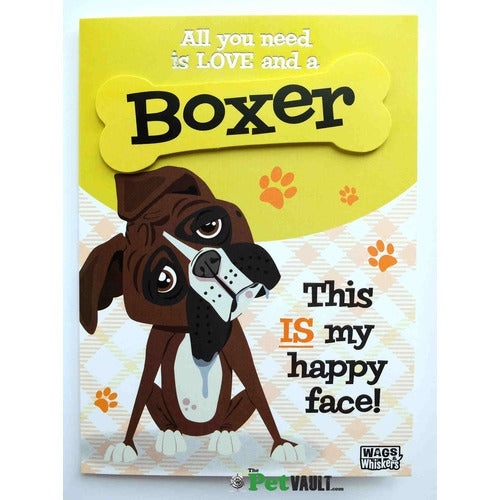 Boxer Dog Gift Greeting Card - The Pet Vault