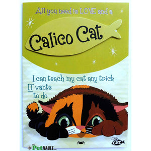 Calico Cat Gift Greeting Card - The Pet Vault