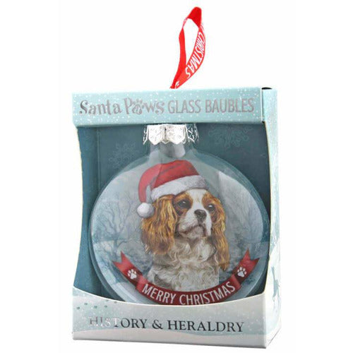 Cavalier King Charles Spaniel Gift Bauble for Christmas - The Pet Vault