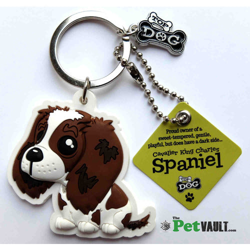 Cavalier King Charles Spaniel Gift Keyring - The Pet Vault