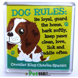 Cavalier King Charles Spaniel Gift Magnet - The Pet Vault