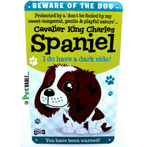 Cavalier King Charles Spaniel Sign - The Pet Vault