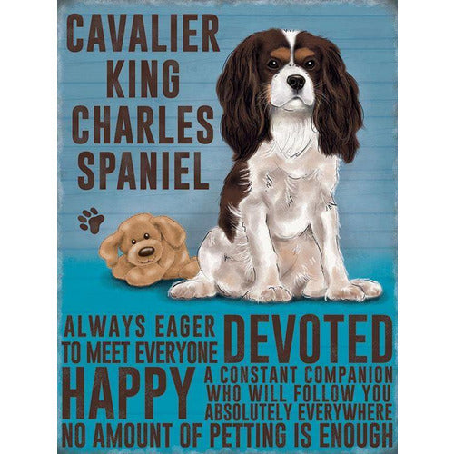Cavalier King Charles Spaniel Magnet Gift - The Pet Vault