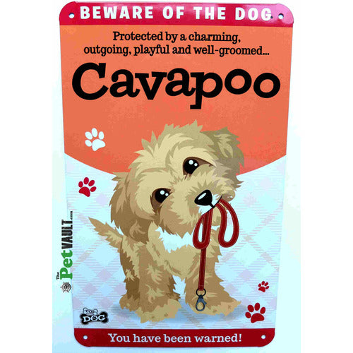 Cavapoo Gift Sign - The Pet Vault