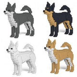 Chihuahua Ornament Gift Model by Jekca, Building block model Gift in four colours - The Pet Vault