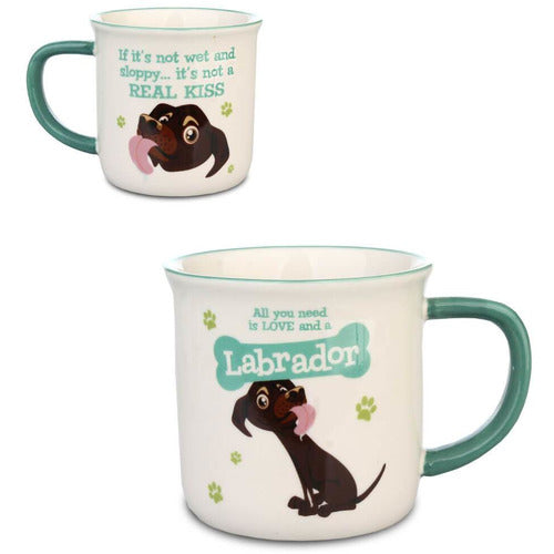 Chocolate Brown Labrador Gift Mug - The Pet Vault