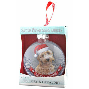 Cockapoo Gift Bauble for Christmas - The Pet Vault