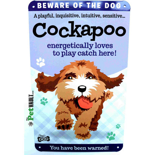 Cockapoo Gift Sign - The Pet Vault