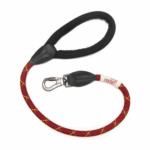 Long paws comfort padded rope dog lead 75cm 30in long for Short sale leads