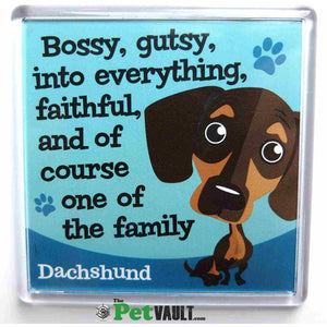 Dachshund Sausage Dog Gift Magnet - The Pet Vault