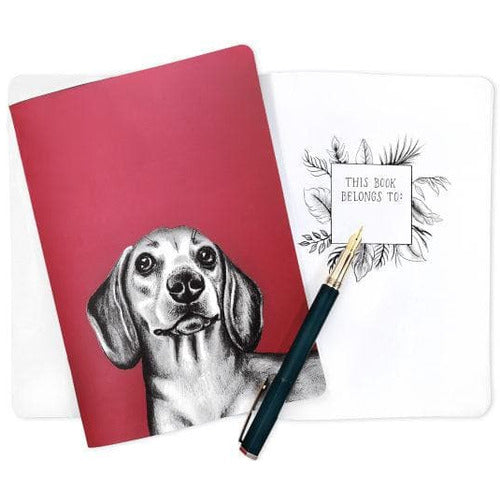 Dachshund Sausage Dog Gift Notebook by Goodchaps - The Pet Vault