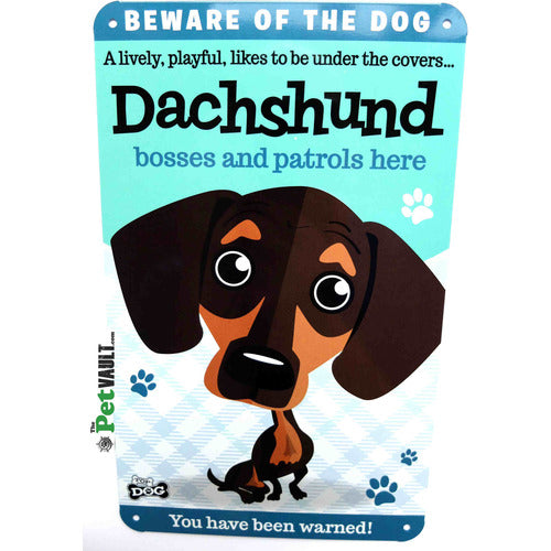 Dachshund Sausage Dog Gift Sign - The Pet Vault