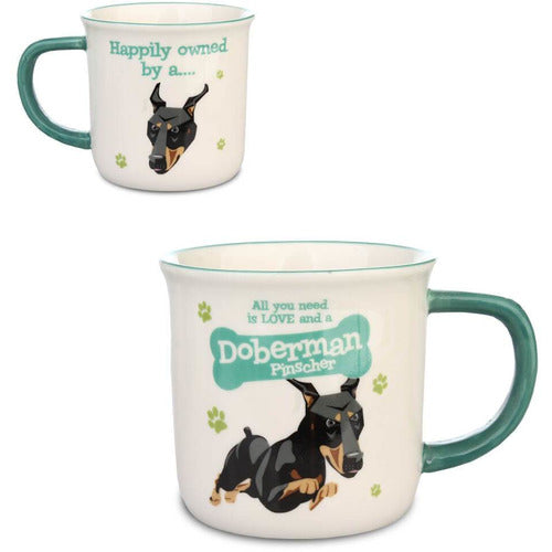 Doberman Dog Gift Mug - The Pet Vault