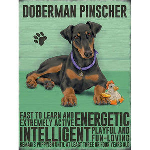 Doberman Magnet Gift - The Pet Vault