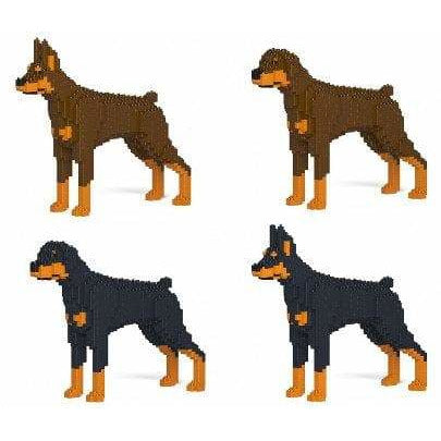 Doberman Pinscher Ornament Gift Model by Jekca, Building block model Gift - The Pet Vault