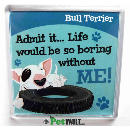 English Bull Terrier Gift Magnet - The Pet Vault