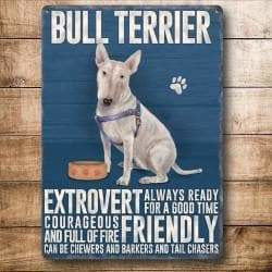 English Bull Terrier Magnet Gift - The Pet Vault